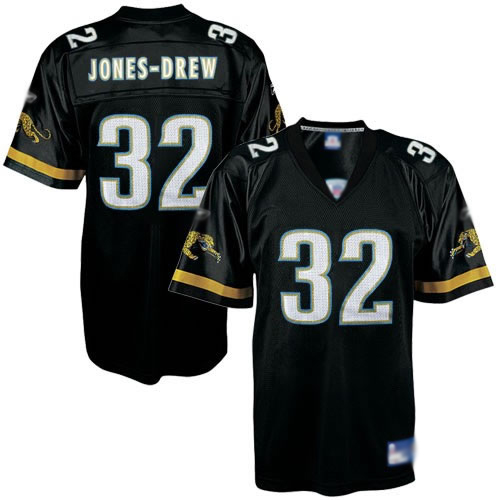Jaguars Maurice Jones-Drew #32 Black Embroidered NFL Jersey